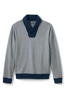 Men's Bedford Rib Shawl Collar Sweater, Front