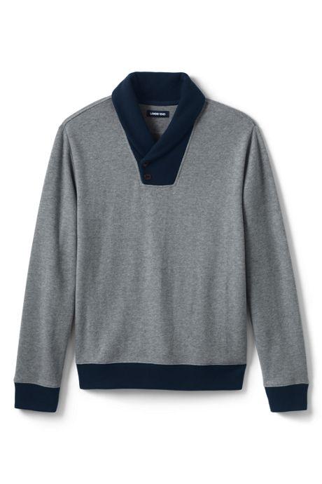 Men's Bedford Rib Shawl Collar Sweater