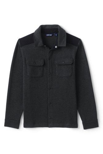 Men's Sweater Fleece Shirt Jacket