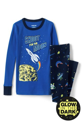 Boys' Snug-fit Glow in the Dark Pyjamas