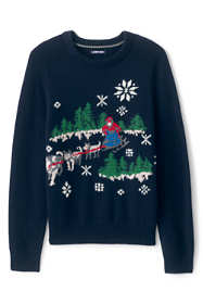 Men's Lighthouse Heritage Dogsled Crew Neck Sweater