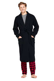Men's Flannel Fleece Reversible Robe