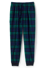 Men's Tall Flannel Jogger Pajama Pants