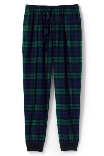 Pantalon de Pyjama en Flanelle, Homme Stature Standard