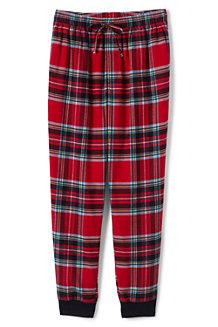 Flanell-Pyjamahose im Jogging-Stil für Herren