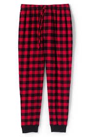 Men's Flannel Jogger Pajama Pants