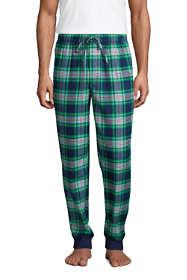 Men's Flannel Jogger Pajama Pants