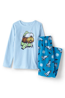 Boys' Graphic Fleece Pyjamas