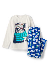Toddler Boys Graphic Fleece Pajama Set