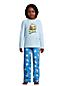 Pyjama 2 Pièces Graphique en Polaire, Garçon