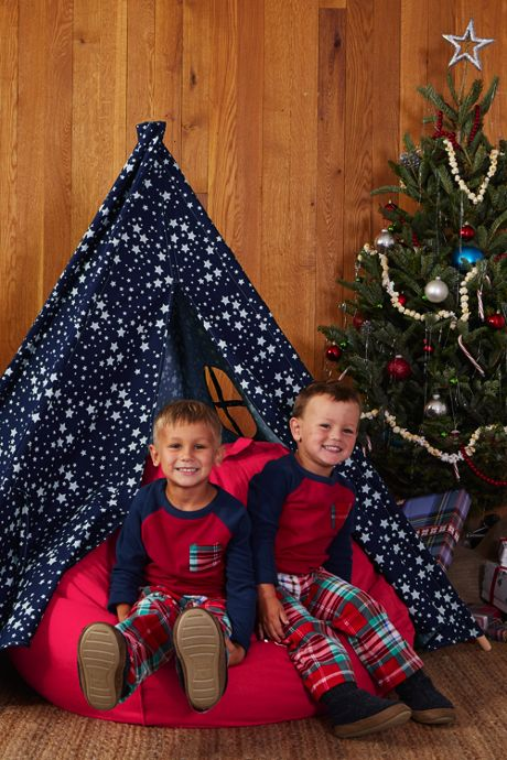 Boys Chest Pocket Fleece Pajama Set