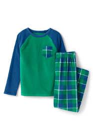 Toddler Boys Chest Pocket Fleece Pajama Set