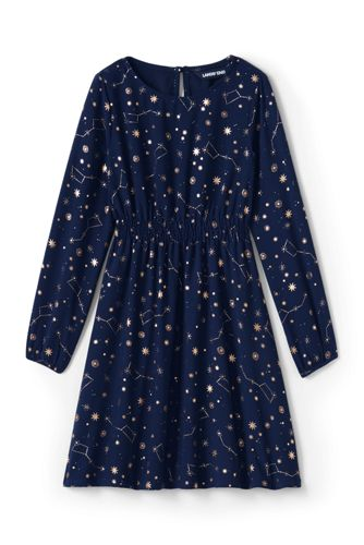 Girls' Printed Twirl Dress