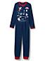 Fleece-Jumpsuit mit Grafik für Jungen