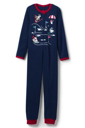 Combinaison Pyjama en Polaire et Graphique, Garçon