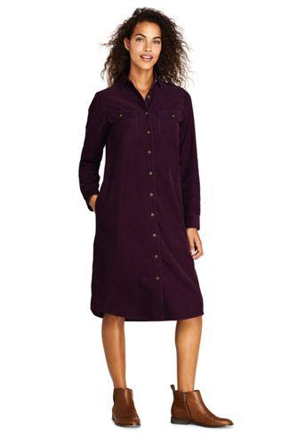 Blusenkleid aus Baby-Cord für Damen