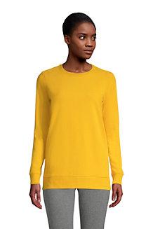 Sweatshirt Long à Manches Longues, Femme