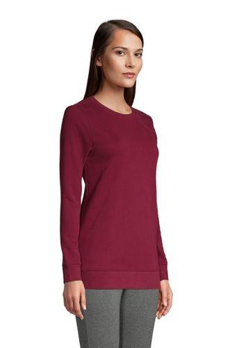 Women's Serious Sweats Crewneck Long Sleeve Sweatshirt Tunic