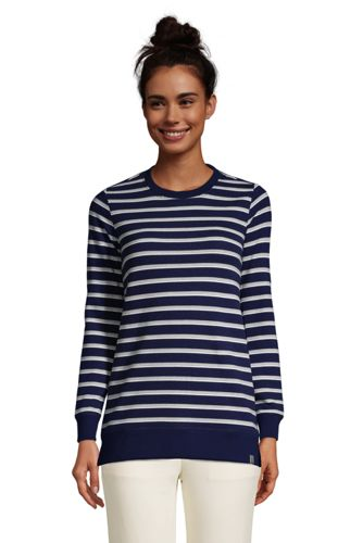 Sweatshirt Long à Manches Longues, Femme Stature Petite