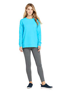 Women's Tall Serious Sweats Crewneck Long Sleeve Sweatshirt Tunic, alternative image