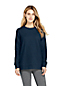 Women's Petite French Terry Sweatshirt Tunic