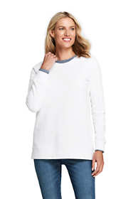 Women's Tall Serious Sweats Crewneck Long Sleeve Sweatshirt Tunic