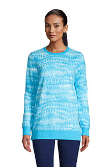 Women's French Terry Sweatshirt Tunic