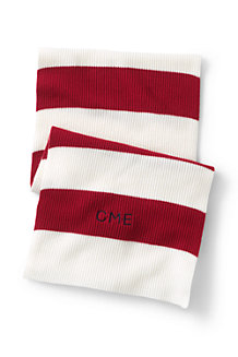 Heritage Knit Rugby Stripe Scarf