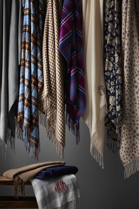 Cashtouch Printed Throw Blanket