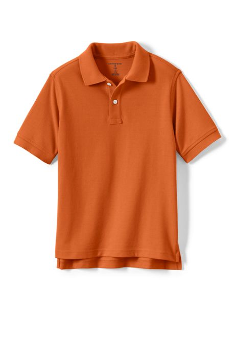 Little Kids Short Sleeve Performance Mesh Polo