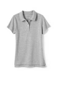 Girls Fem Fit Short Sleeve Mesh Polo