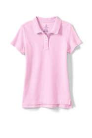 Girls Fem Fit Short Sleeve Mesh Polo