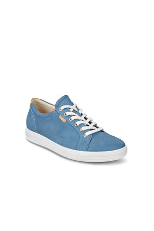 20ff4469e393b Women's ECCO Soft 7 Leather Trainers | Lands' End