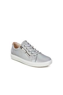 bd9682c7725534 ECCO SOFT 7 Ledersneaker mit Reißverschluss für Damen