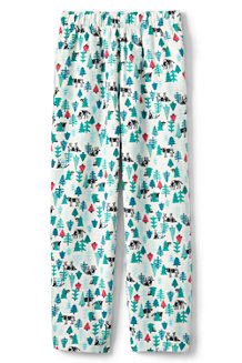 Kids' Patterned Flannel Pyjama Bottoms
