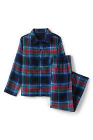 Toddler Boys Flannel Pajama Set