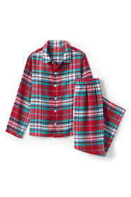 Boys Flannel Pajama Set
