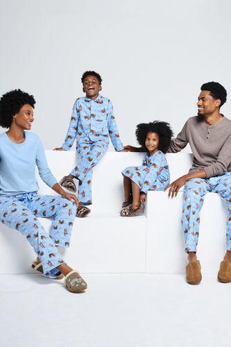 Boys Flannel Pajama Set