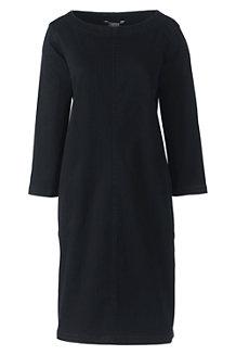 Women's Soft Denim Popover Dress