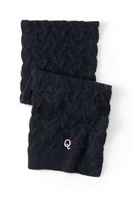 Women's Cable Knit Winter Scarf
