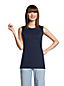Débardeur en Coton Supima, Femme Stature Standard