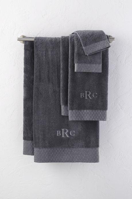 Supima Christmas Washcloths Set of 2