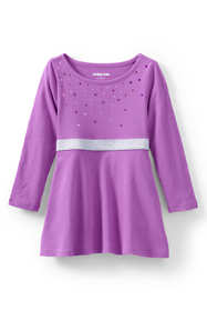 Toddler Girls Sequin Fit and Flare Dress