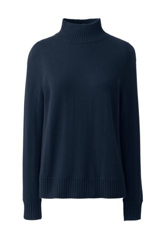 Womens' Cashmere Polo Neck Jumper