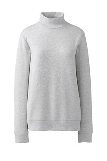 Sweatshirt mit Rollkragen für Damen