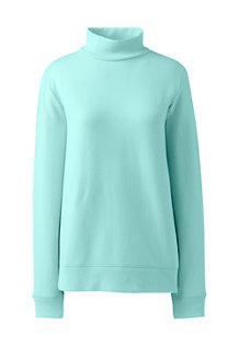 Sweatshirt mit Stehkragen für Damen