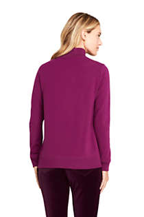 Women's Serious Sweats Turtleneck Long Sleeve Sweatshirt , Back
