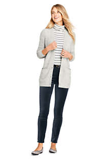 Women's Cashmere V-neck Long Cardigan Sweater, Unknown
