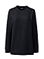Sweatshirt Long Stretch Texturé, Femme Grande Taille
