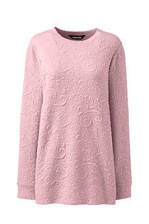 Sweatshirt mit Jacquardstruktur für Damen